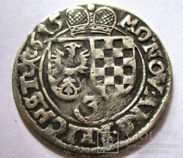 3 крейцера 1615 года