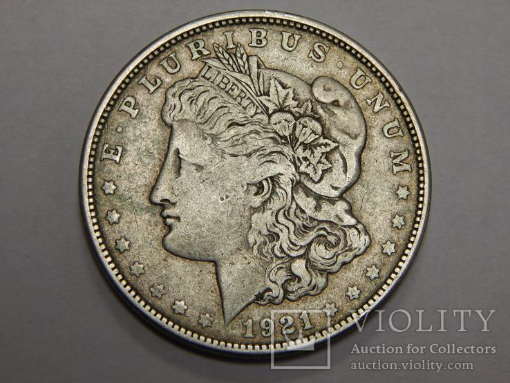 1 доллар, 1921  S США, фото №3