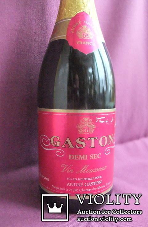 Вино GASTON ANDRE - DEMI SEC. Франция., фото №4