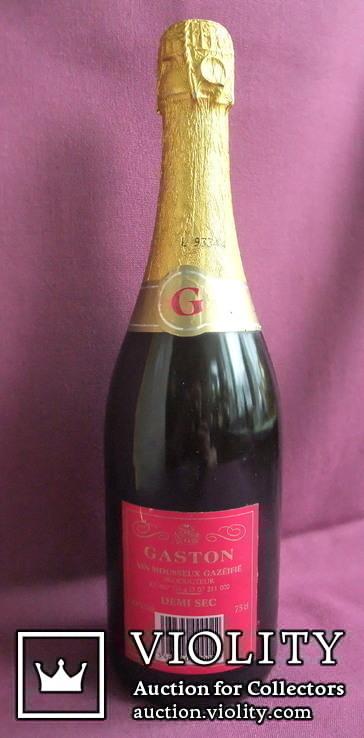 Вино GASTON ANDRE - DEMI SEC. Франция., фото №6