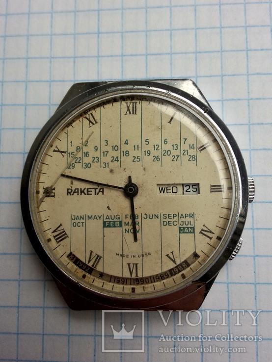 Часы Ракета, Вечный календарь.