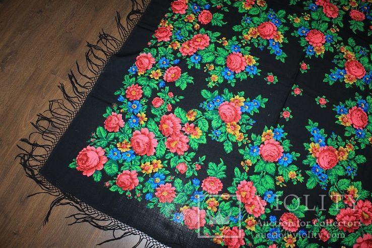 Шерстяной платок №245, фото №3