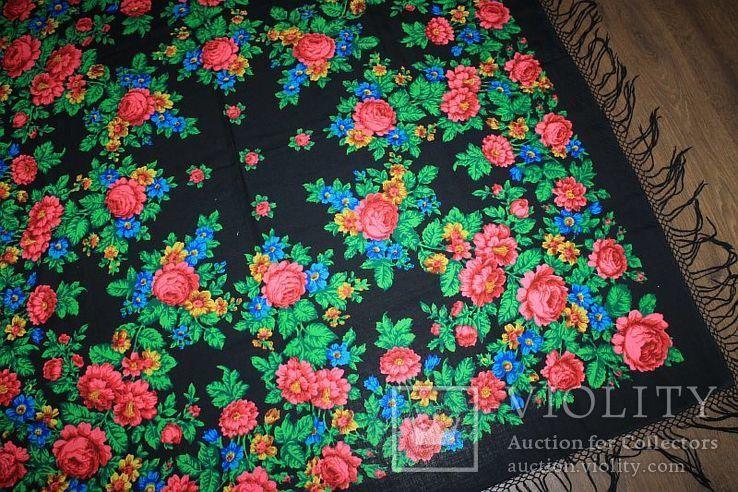 Шерстяной платок №245, фото №4
