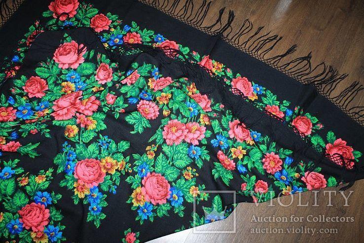 Шерстяной платок №245, фото №9