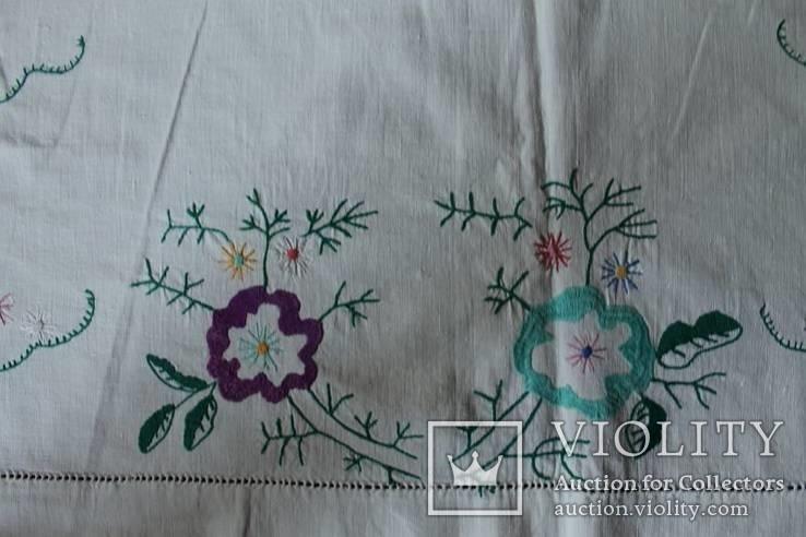 Скатерть на стол с богатой вышивкой №2 (З), фото №6