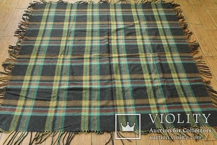 Большой шерстяной платок №3, фото №2