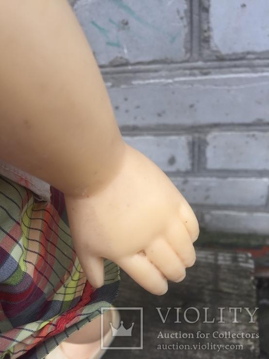 Кукла паричковая СССР 59 см, фото №5