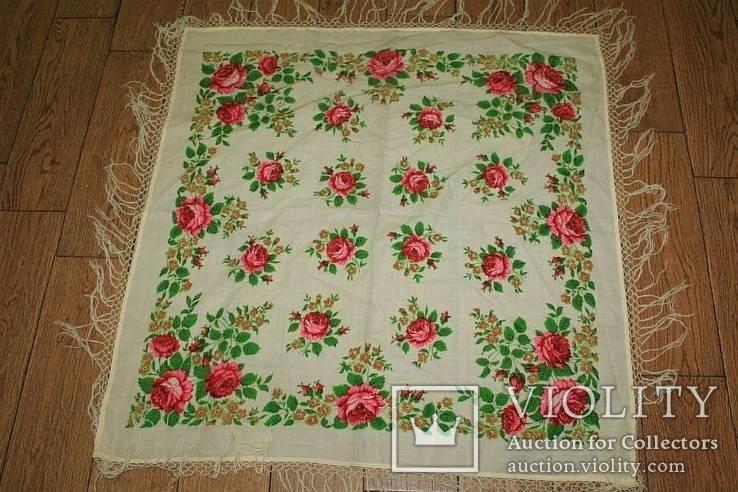 Шерстяной платок №37, фото №2