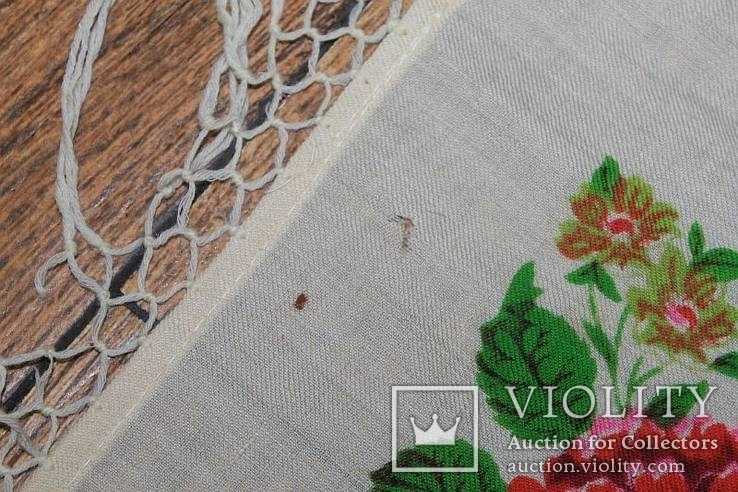 Шерстяной платок №37, фото №6