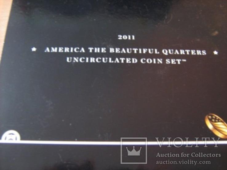 Подарочный набор монет США   2011 год., фото №3