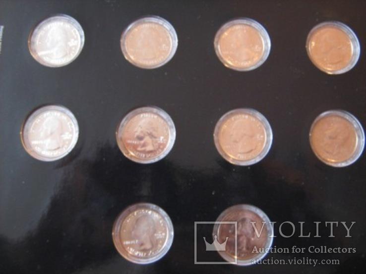 Подарочный набор монет США   2011 год., фото №4
