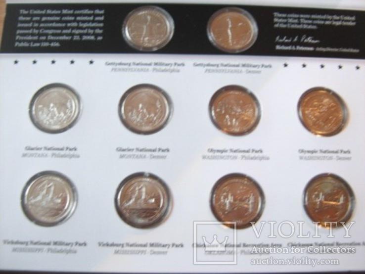 Подарочный набор монет США   2011 год., фото №5