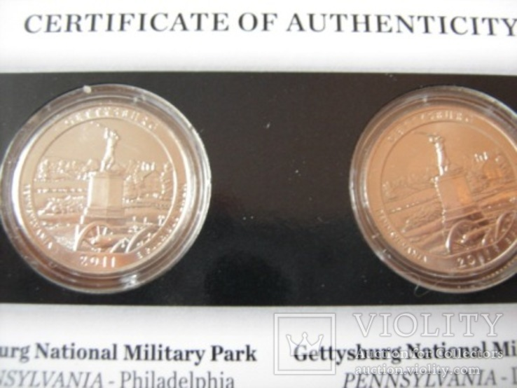 Подарочный набор монет США   2011 год., фото №7