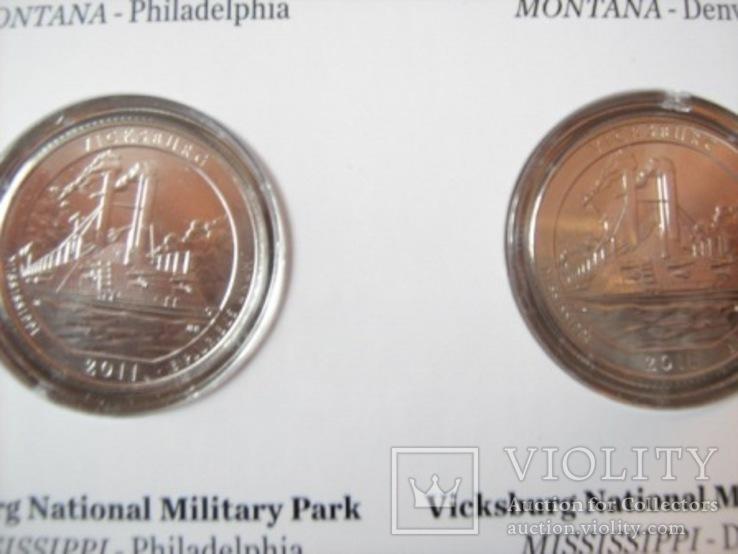 Подарочный набор монет США   2011 год., фото №8