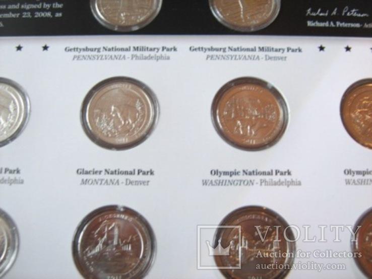 Подарочный набор монет США   2011 год., фото №10