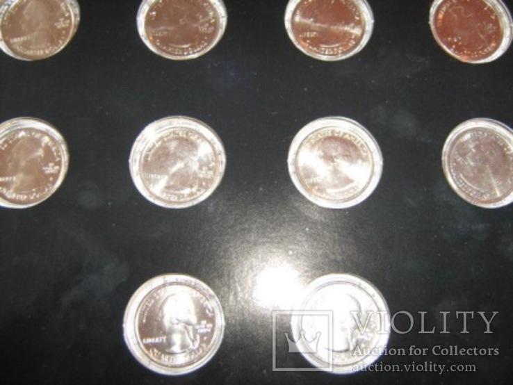 Подарочный набор монет США   2011 год., фото №13
