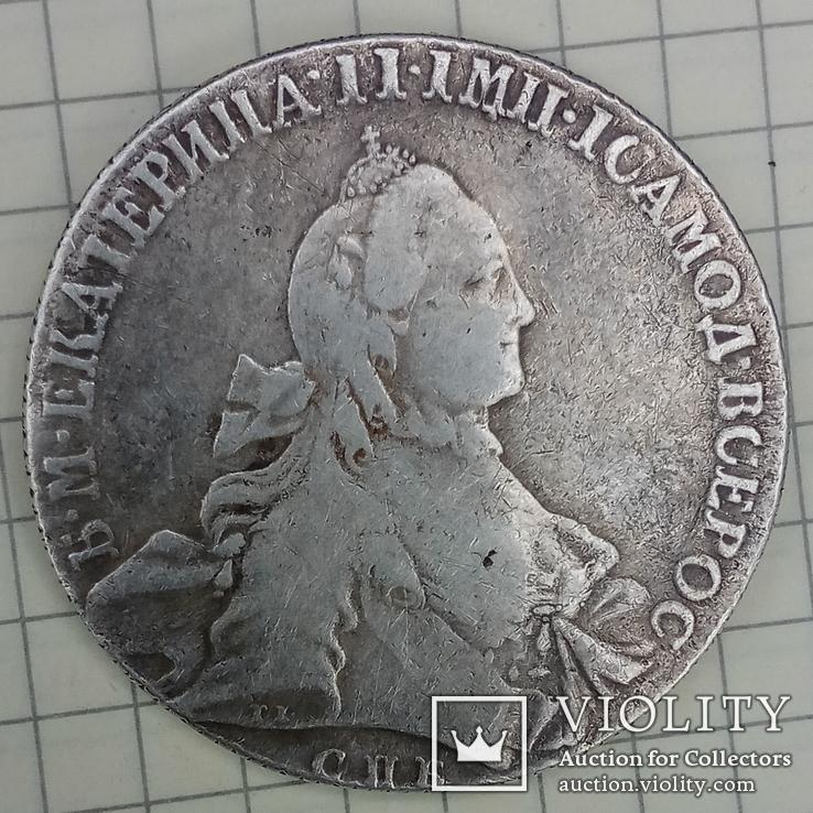 Рубль 1762 года СПБ - НК
