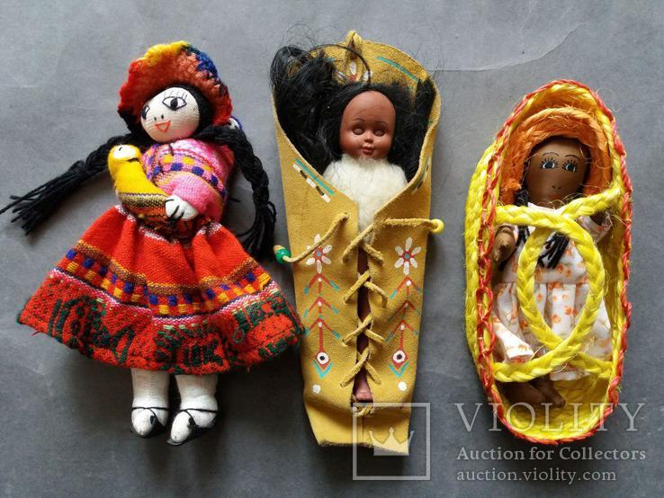 Куклы разные. 3 шт., фото №3