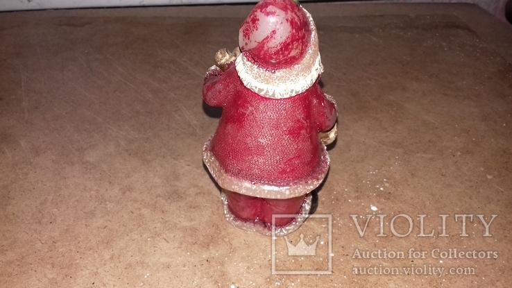 Дед мороз восковая свеча., фото №4