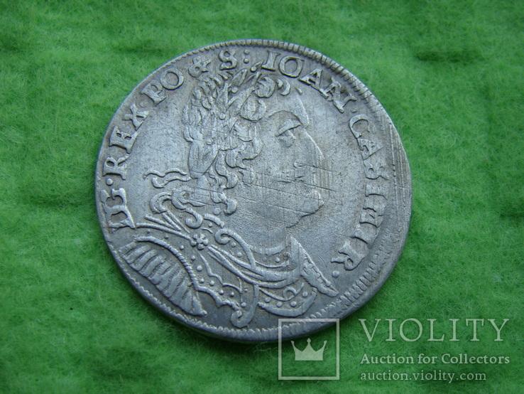 Орт 1653 р. Ян Казимир. Всхов ., фото №3