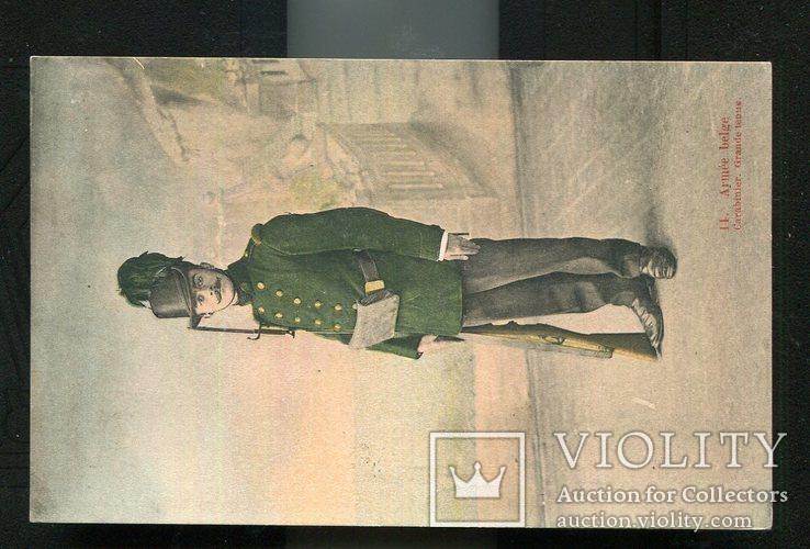 1-я мировая война армия Бельгии карабинер 1914 г, фото №2