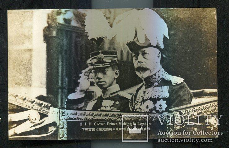 Япония принц Эйсихито визит в Лондон Георг VI до 1939 г, фото №2