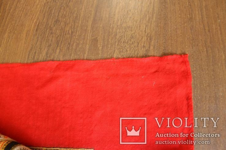 Шерстяной старинный платок№219, фото №10
