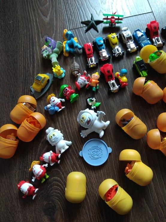 Игрушки из kinder surprise, фото №5