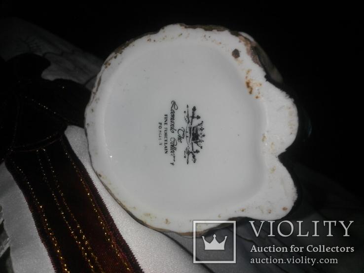 Фигурка- кружка Адмирал Нельсон , сливочница для кофе Leonardo Collection. Фарфор. Англия, фото №8