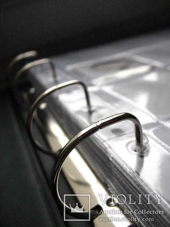 Альбом для монет в холдерах БІЛИЙ ( на 200 шт. холдерів ), фото №4