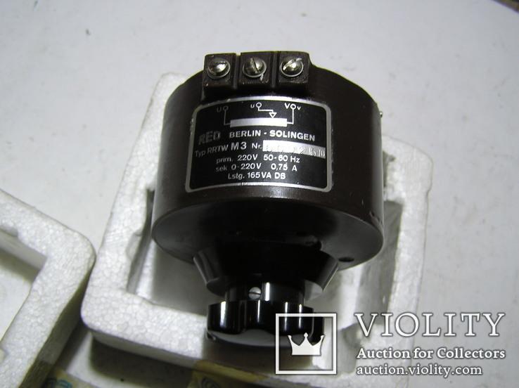 Кольцевой привод трансформатора REOVAR RRTW M3. В народе -мини латр., фото №6