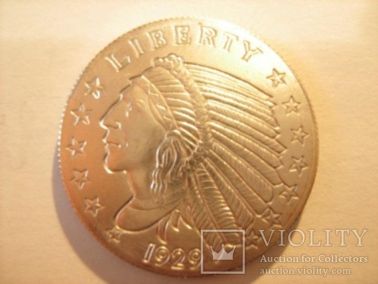 Либерти доллар 1929 год, фото №5