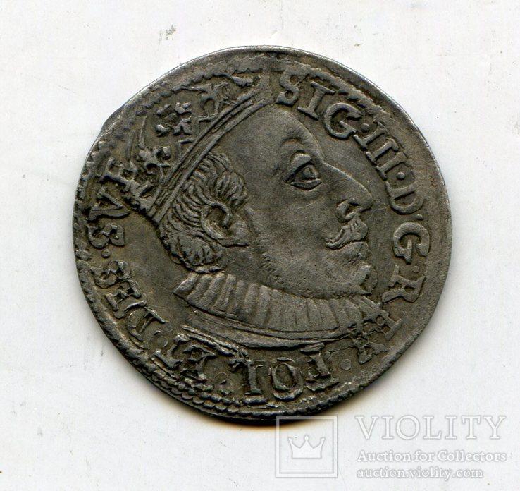 Трояк 1588 год.R8
