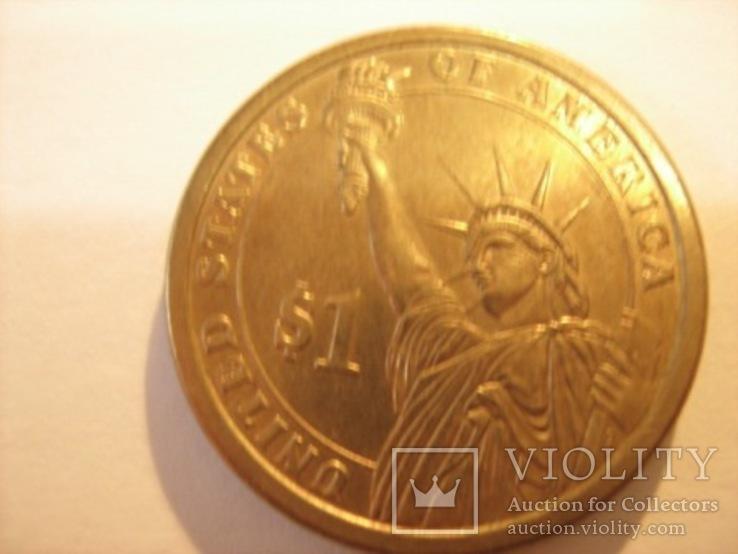 1 доллар 2007 - Томас Джефферсон 3 президент, фото №6