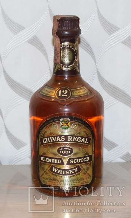 Виски Chivas Regal 12 Years, 60-тых годов