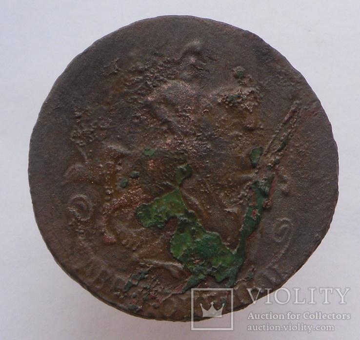 2 копейки 1766 года (без монетного двора).