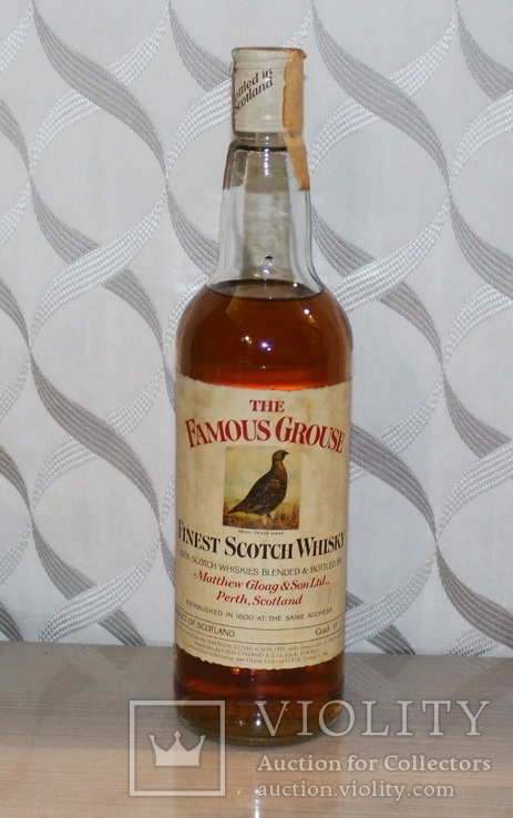 Виски The Famous Grouse 1980s