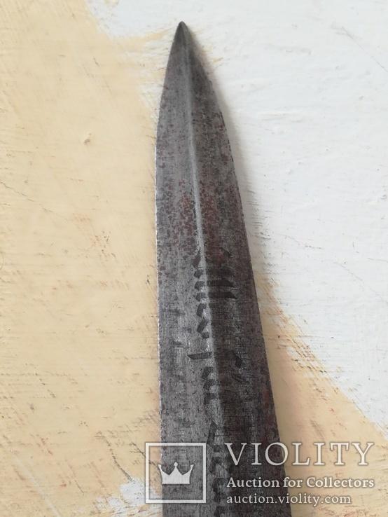 Кинжал СА клинок с клеймом., фото №8