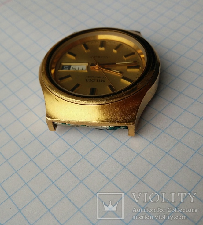 Наручные часы Mildia automatic. Swiss made, фото №8