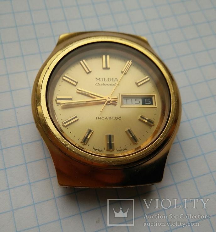 Наручные часы Mildia automatic. Swiss made, фото №9