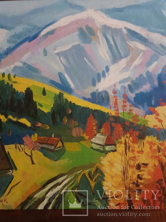 Старый пейзаж Худ. Патик В. 1926-2016., фото №5