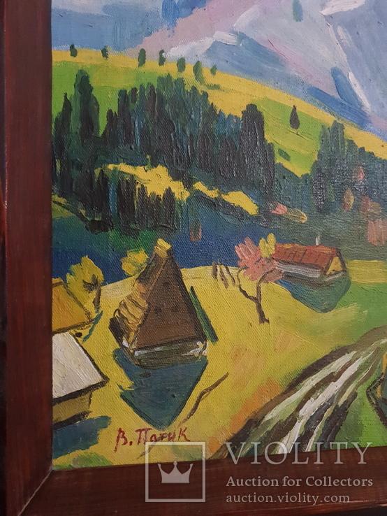 Старый пейзаж Худ. Патик В. 1926-2016., фото №6