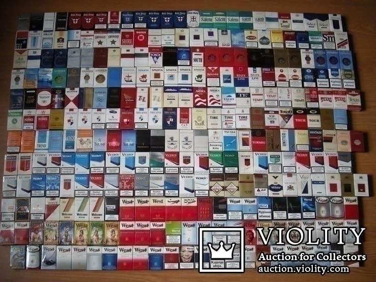 фото коллекции пустых пачек от сигарет пока единственный