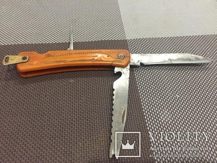 Туристический нож Осетр.