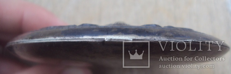 Старая серебряная пудреница., фото №7