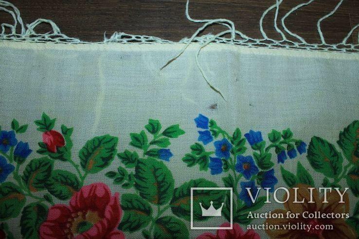 Шерстяной платок №252, фото №7