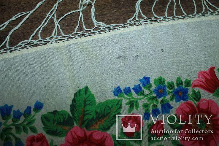 Шерстяной платок №252, фото №8