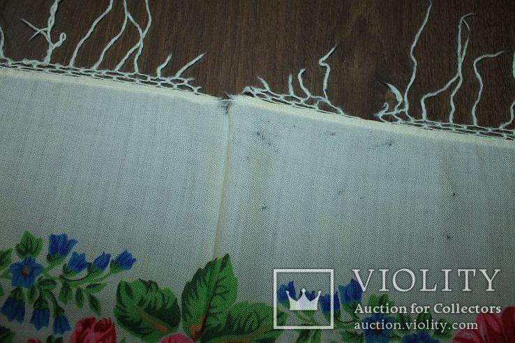 Шерстяной платок №252, фото №9