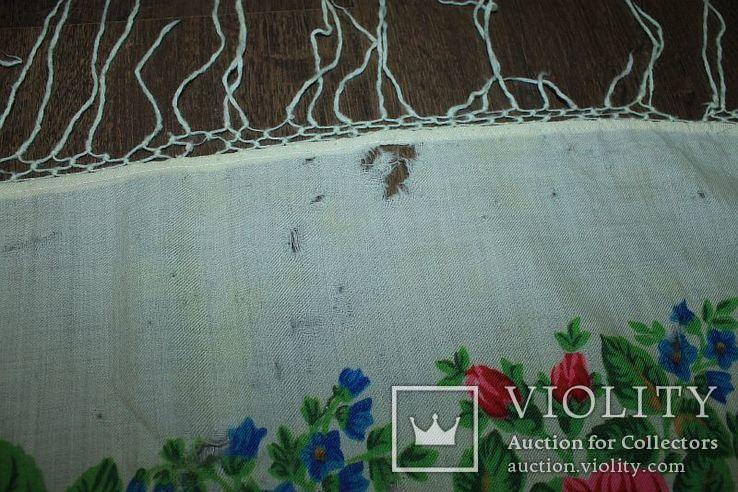 Шерстяной платок №252, фото №10
