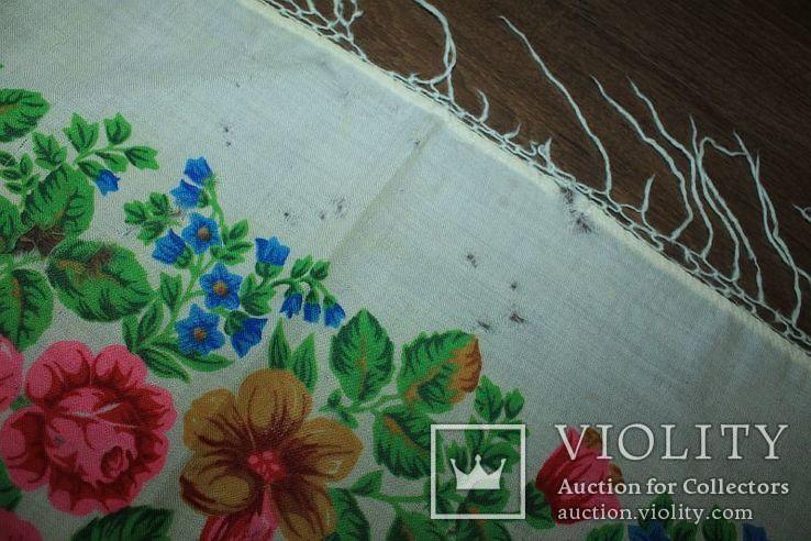 Шерстяной платок №252, фото №11